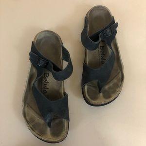 Birkenstock Betula Jasmin Toe Loop Brown Sandals